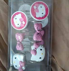 Hello Kitty Shower Rings